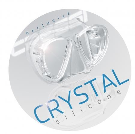 Cressi Crystal Silicone - Patentiert